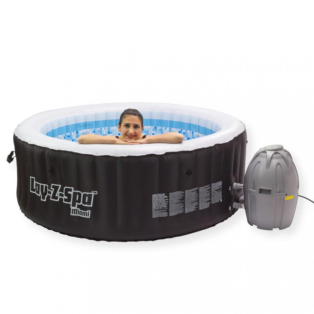 Large Size of Whirlpool Aufblasbar Spa 800 Miami Pool Massage Garten Wohnzimmer Whirlpool Aufblasbar