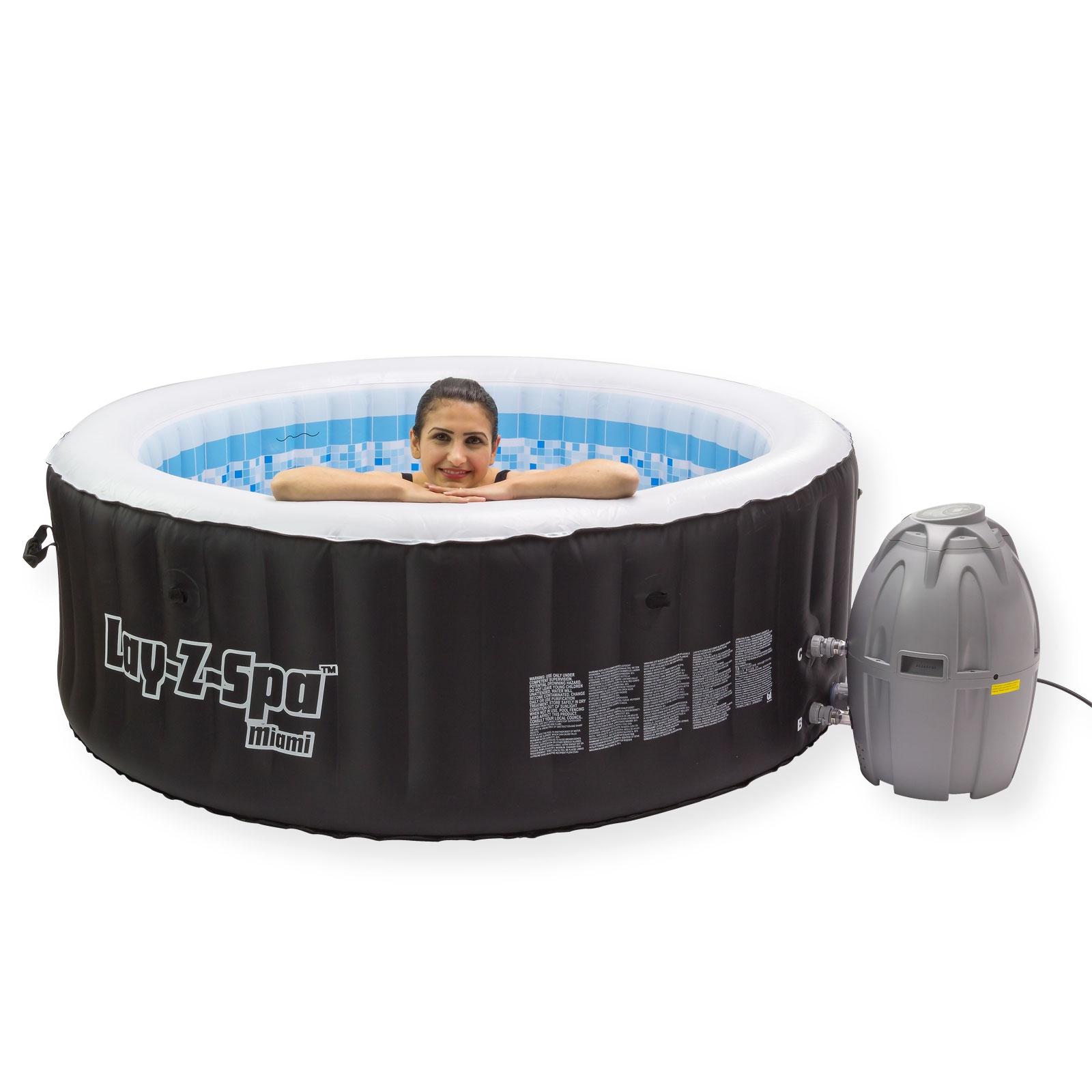 Full Size of Whirlpool Aufblasbar Spa 800 Miami Pool Massage Garten Wohnzimmer Whirlpool Aufblasbar