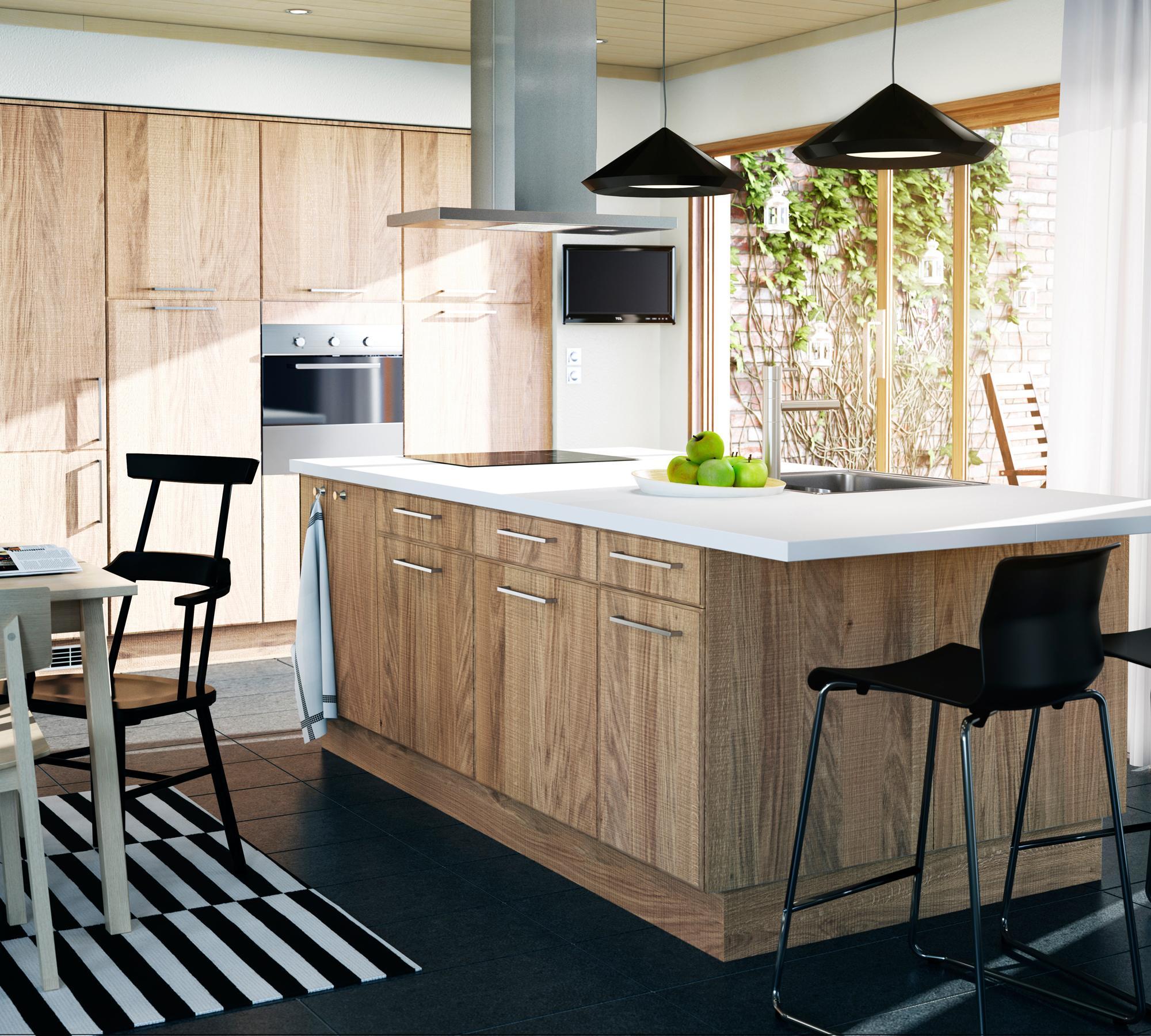 Full Size of Kchenblock Und Einbauschrnke Aus Holz In Moderner Modulküche Ikea Küche Kosten Betten Bei Kaufen Miniküche 160x200 Sofa Mit Schlaffunktion Wohnzimmer Kücheninsel Ikea