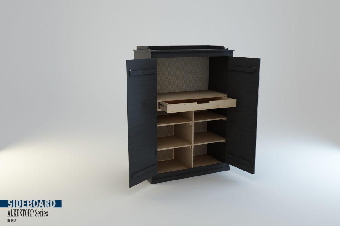 Large Size of 3d Sideboard Arkelstorp Set Ikea Model Küche Mit Arbeitsplatte Modulküche Betten 160x200 Kaufen Kosten Sofa Schlaffunktion Bei Miniküche Wohnzimmer Wohnzimmer Ikea Sideboard