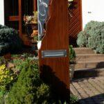 Gartendeko Modern Wohnzimmer Gartendeko Modern Moderne Skulpturen Online Selber Machen Metall Kaufen Rost Edelstahl Pinterest Briefkasten Sule Bestehend Aus Einer Kombination Von Stahl U