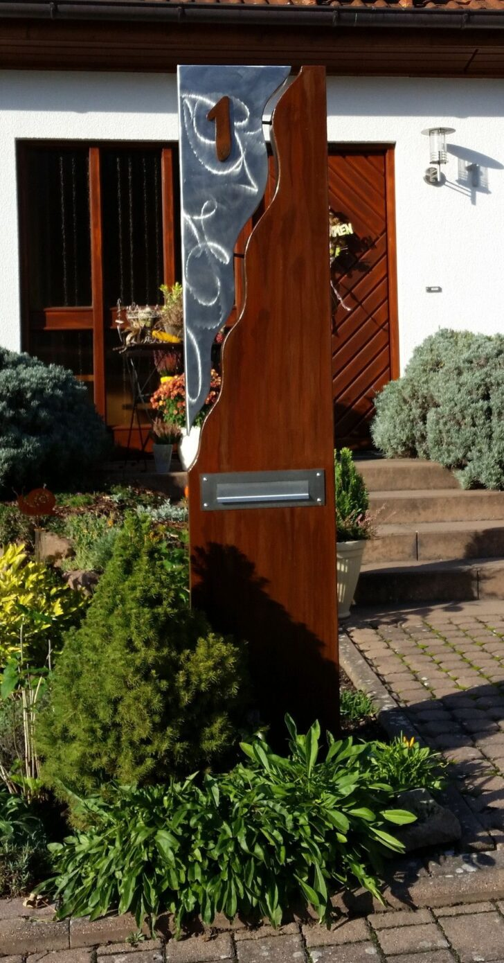 Medium Size of Gartendeko Modern Moderne Skulpturen Online Selber Machen Metall Kaufen Rost Edelstahl Pinterest Briefkasten Sule Bestehend Aus Einer Kombination Von Stahl U Wohnzimmer Gartendeko Modern