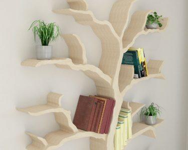 Bücherregal Baum Wohnzimmer Bücherregal Baum Esstisch Nussbaum Bett 180x200 Regal Mit Baumkante