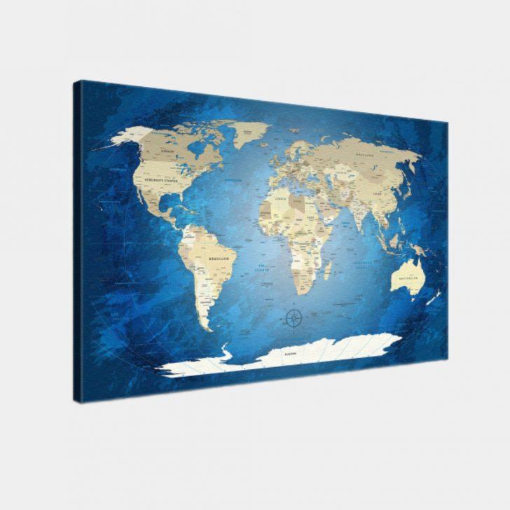 Medium Size of Pinnwand Modern Weltkarte Blue Ocean Küche Weiss Moderne Landhausküche Bett Design Esstisch Modernes Sofa Deckenlampen Wohnzimmer Holz Deckenleuchte Wohnzimmer Pinnwand Modern