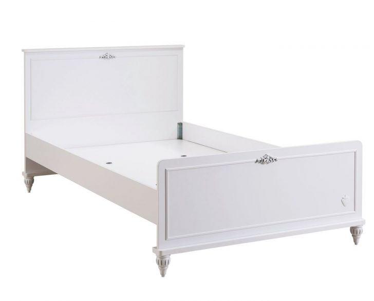 Medium Size of Bett Romantica 120x200 Cm Komfort Weiß Mit Bettkasten Matratze Und Lattenrost Betten Wohnzimmer Kinderbett 120x200
