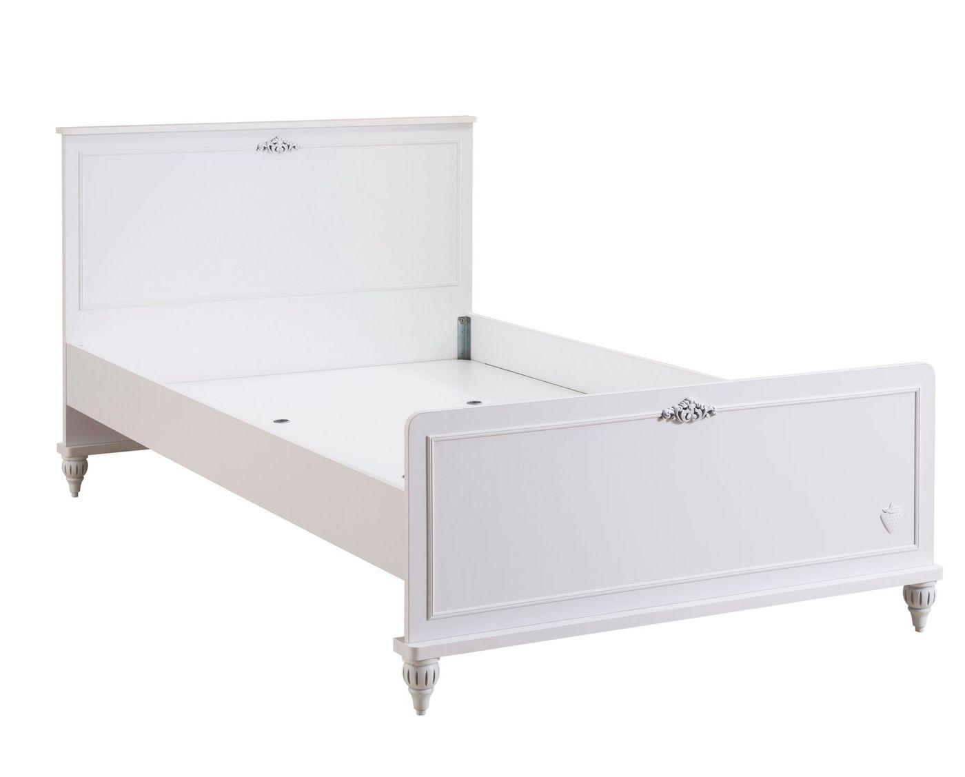 Full Size of Bett Romantica 120x200 Cm Komfort Weiß Mit Bettkasten Matratze Und Lattenrost Betten Wohnzimmer Kinderbett 120x200