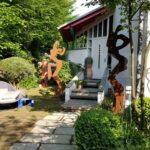 Moderne Gartendeko Kaufen Modern Skulpturen Selber Machen Edelstahl Rost Pinterest Metall Online Tapete Küche Esstisch Modernes Bett 180x200 Weiss Wohnzimmer Gartendeko Modern