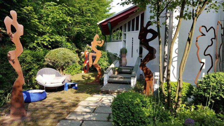 Medium Size of Moderne Gartendeko Kaufen Modern Skulpturen Selber Machen Edelstahl Rost Pinterest Metall Online Tapete Küche Esstisch Modernes Bett 180x200 Weiss Wohnzimmer Gartendeko Modern