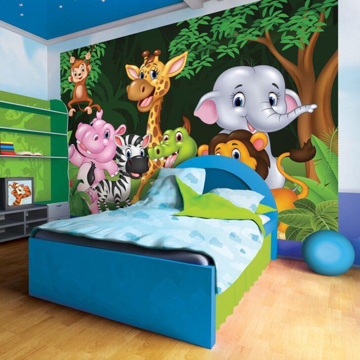 Medium Size of Fototapeten Kinderzimmer Fototapete Wanddeko Wandtattoo 242820fw Tieren Dschungel Regal Weiß Sofa Regale Wohnzimmer Kinderzimmer Fototapeten Kinderzimmer