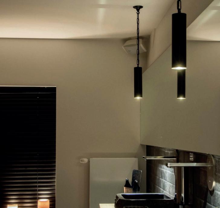 Medium Size of Kcheninsel Hngeleuchte Rund Mit Warmen Und Funktionalen Licht Wohnzimmer Kücheninsel