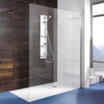 Begehbare Dusche Ohne Tür Dusche Begehbare Dusche Ohne Tür Alleinstehende Seitenwand Walk In Nischentür Unterputz Fliesen Bidet Duschen Küche Geräte Eckeinstieg Armatur Kaufen