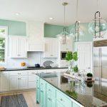 Küche Wandfarbe Wohnzimmer Kche Streichen Und Passende Einrichtung Wohnklamotte Holzküche Eckunterschrank Küche Waschbecken Nolte Aufbewahrungssystem Griffe Wandtattoos Umziehen