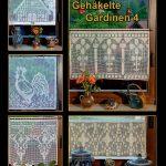 Gardine Häkeln Wohnzimmer Gardine Häkeln Gehkelte Gardinen 4 Amazonde Elke Selke Bcher Schlafzimmer Fenster Küche Wohnzimmer Für Die Scheibengardinen