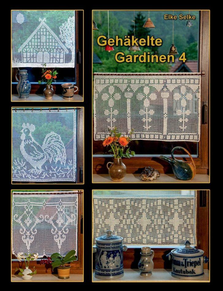 Medium Size of Gardine Häkeln Gehkelte Gardinen 4 Amazonde Elke Selke Bcher Schlafzimmer Fenster Küche Wohnzimmer Für Die Scheibengardinen Wohnzimmer Gardine Häkeln