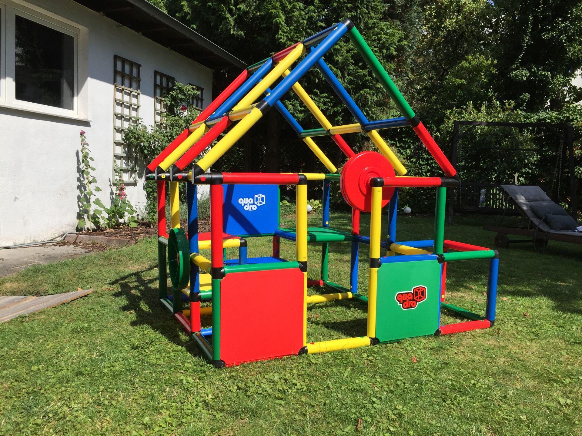 Full Size of Quadro Klettergerüst Das Bauen Mit Dem Klettergerst Macht Einfach Spa Garten Wohnzimmer Quadro Klettergerüst