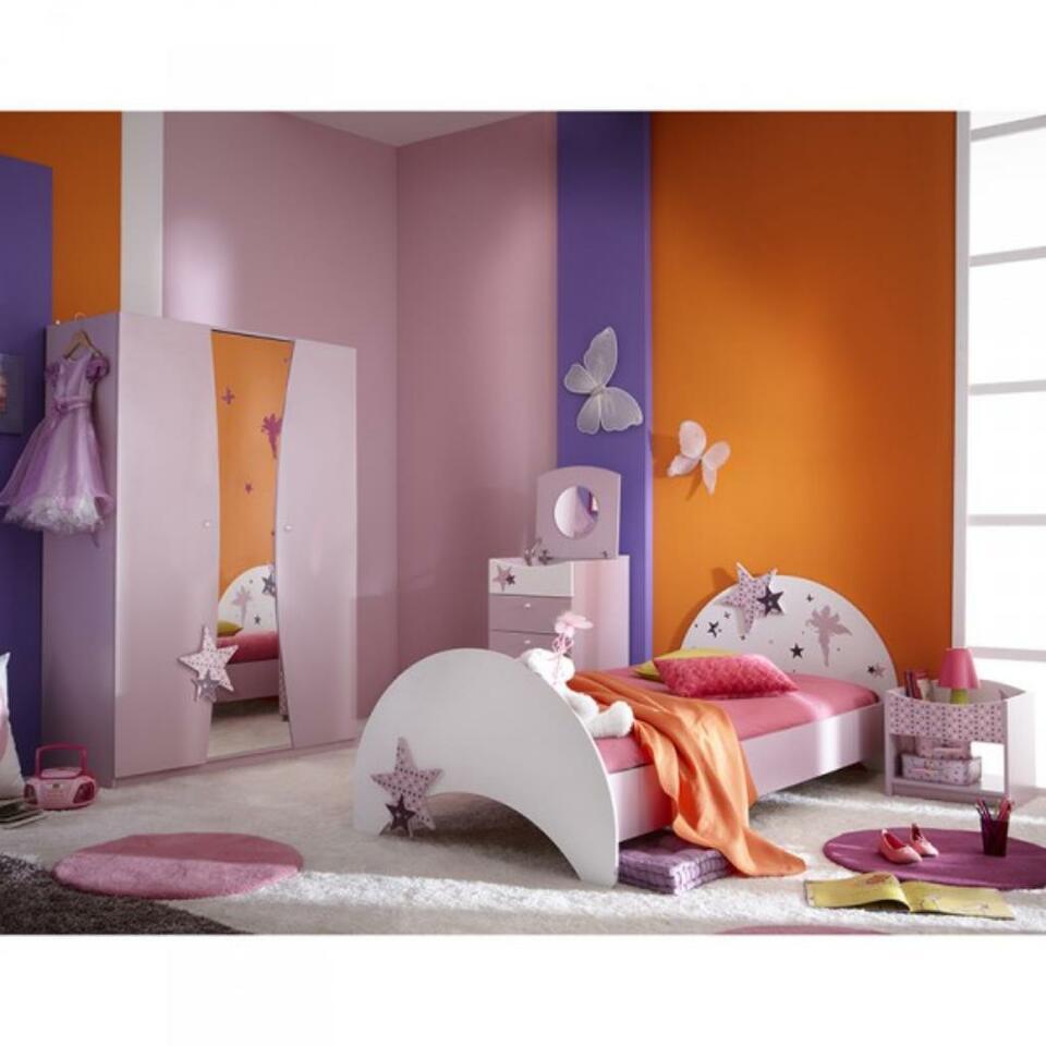 Full Size of Kinderbett Jugendbett Sternchen 90200 Lila Wei In Betten Bett Wohnzimmer Kinderbett Mädchen