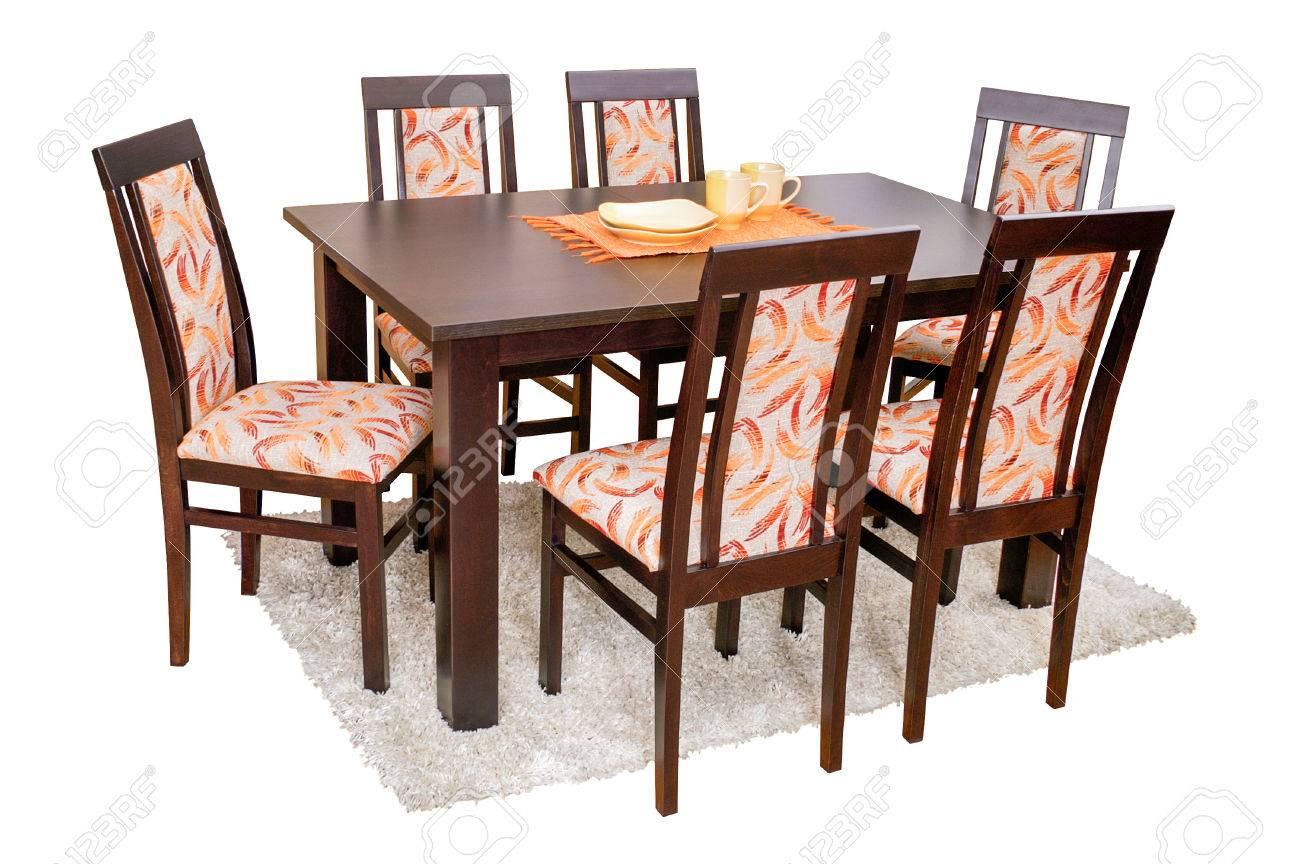 Full Size of Stühle Esstisch Und Sthle Getrennt Auf Wei Lizenzfreie Fotos Rund Mit Stühlen Shabby Esstische Massiv Ausziehbar Oval Weiß 80x80 Holzplatte Altholz Esstische Stühle Esstisch