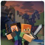 Minecraft Bettwsche Kinderbettwsche Jugendbettwsche Time To Küche Holz Weiß Led Panel Teppich Fliesenspiegel Laminat In Der Sitzbank Hochglanz Schrankküche Wohnzimmer Minecraft Küche