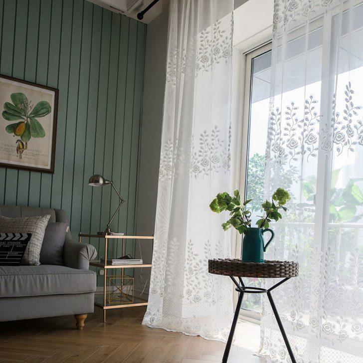 Medium Size of Gardine Wei Rose Design Großes Bild Gardinen Für Sofa Kleines Tisch Schrankwand Deckenleuchte Stehleuchte Küche Weiss Teppich Duschen Holz Hängeleuchte Wohnzimmer Wohnzimmer Gardinen Modern