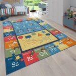Teppiche Kinderzimmer Kinderzimmer Spielteppich Kinderzimmer Zahlen Buchstaben Teppichcenter24 Sofa Regale Regal Weiß Wohnzimmer Teppiche