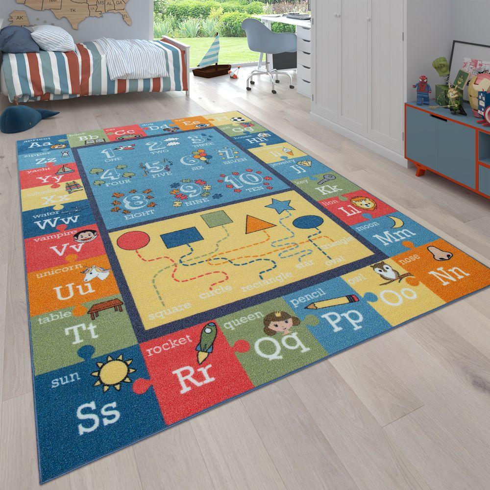 Full Size of Spielteppich Kinderzimmer Zahlen Buchstaben Teppichcenter24 Sofa Regale Regal Weiß Wohnzimmer Teppiche Kinderzimmer Teppiche Kinderzimmer
