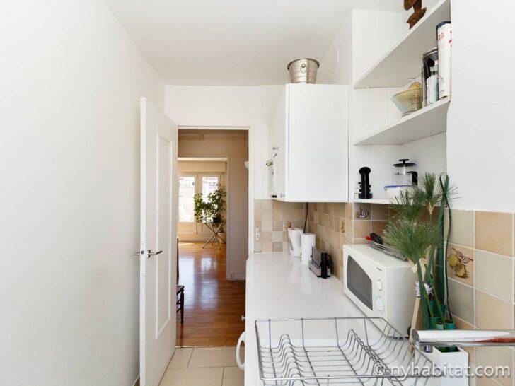 Medium Size of Habitat Küche Wohnungsvermietung In Paris 2 Zimmer Invalides Pa 3384 Kleine L Form Mit E Geräten Günstig Anrichte Wanddeko Wandbelag Gardinen Für Die Wohnzimmer Habitat Küche