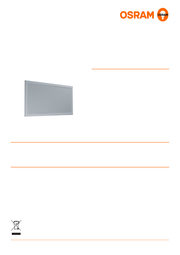 Medium Size of Osram Led Panel Gebrauchsinformation Datenblatt Zu Planon Plus Deckenleuchte Bad Chesterfield Sofa Leder Wohnzimmer Lederpflege Kunstleder Grau Big Wohnzimmer Osram Led Panel