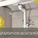 Raumsparsiphon Montieren Youtube Spüle Küche Bauhaus Fenster Wohnzimmer Stöpsel Spüle Bauhaus