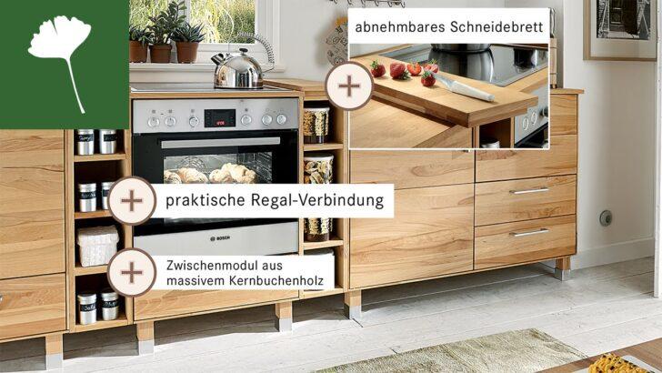 Medium Size of Modulküchen Massivholz Modulkche Culinara Besonderheiten Youtube Wohnzimmer Modulküchen