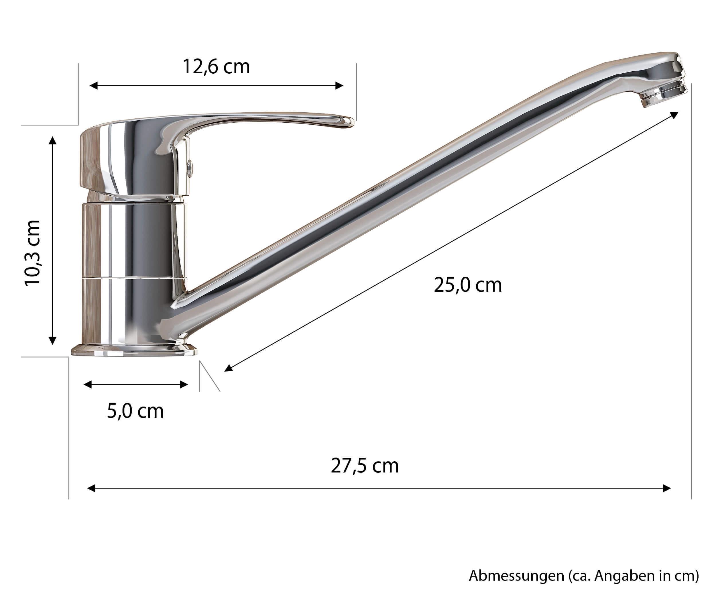 Full Size of Vilstein Armatur Mischbatterie Fr Sple Waschbecken Wasserhahn Küche Wandanschluss Bad Für Wohnzimmer Wasserhahn Anschluss