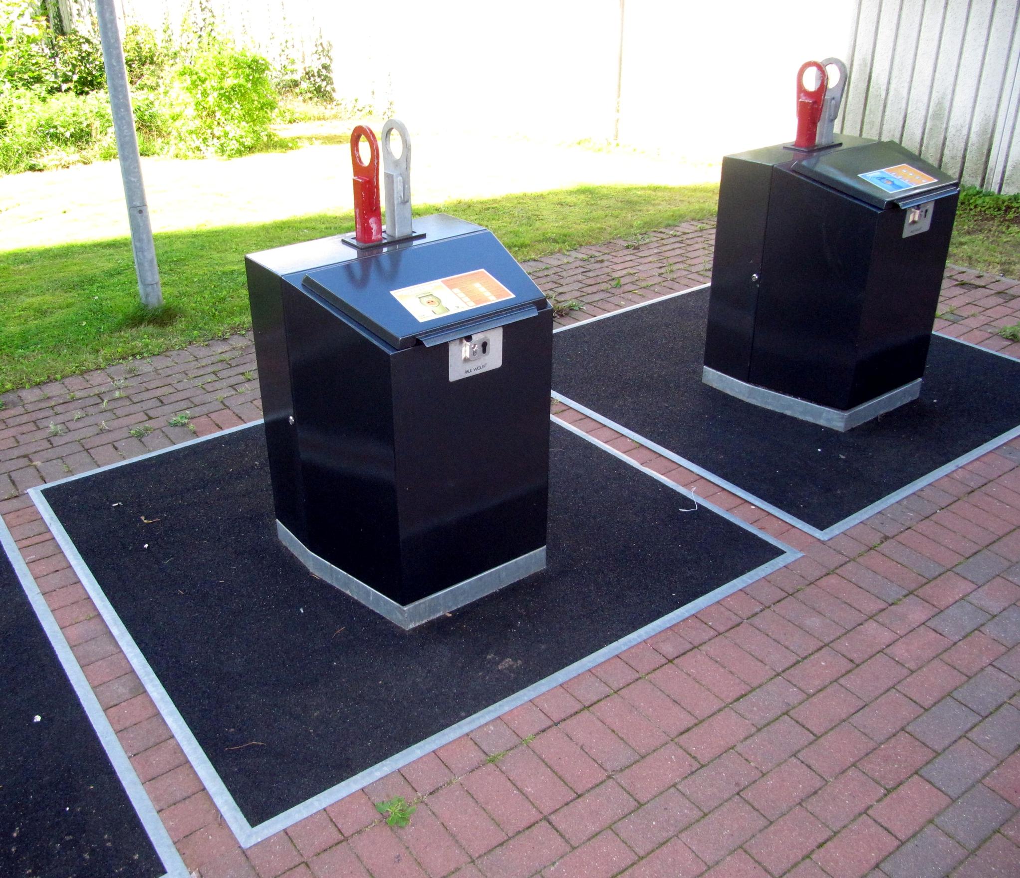 Full Size of Müllsystem Unterflurbehlter Wikipedia Küche Wohnzimmer Müllsystem