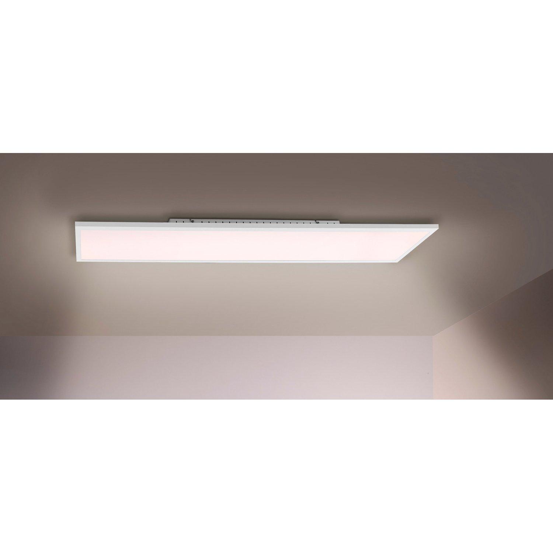 Full Size of Deckenlampe Led Dimmbar Deckenleuchte 100 Cm 25 Wei A Kaufen Bei Obi Echtleder Sofa Wohnzimmer Einbauleuchten Bad Küche Spiegel Esstisch Büffelleder Wohnzimmer Deckenlampe Led Dimmbar