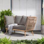 Gartensofa Tchibo Wohnzimmer Komfort Gartensofa Tchibo 2 In 1 Lounge Sofa Premium Mit Textilgeflecht Garten