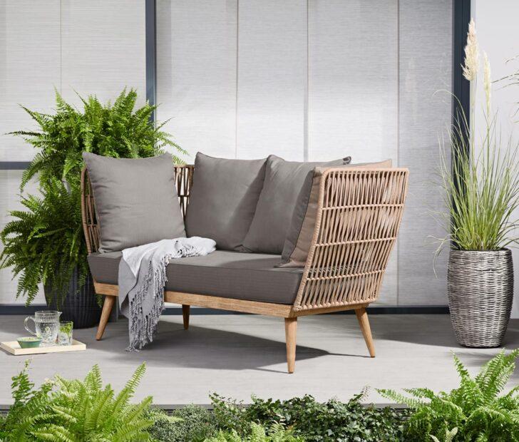Medium Size of Komfort Gartensofa Tchibo 2 In 1 Lounge Sofa Premium Mit Textilgeflecht Garten Wohnzimmer Gartensofa Tchibo