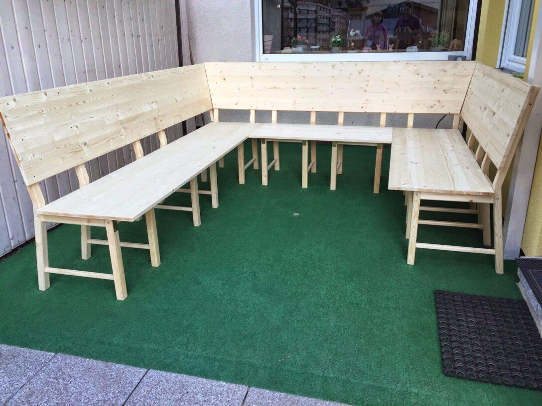 Large Size of Eckbank Selber Bauen Ikea Selbst Hack Diy Aus 8 Sthlen Wird Eine Groe Bzw Lounge Bett Kopfteil Machen Einbauküche Sofa Mit Schlaffunktion Modulküche 180x200 Wohnzimmer Eckbank Selber Bauen Ikea