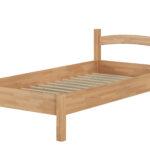 Futonbett 100x200 Massivholzbett Holzbett Buche Natur Real Betten Bett Weiß Wohnzimmer Futonbett 100x200
