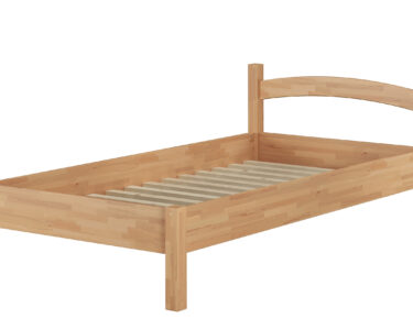 Futonbett 100x200 Wohnzimmer Futonbett 100x200 Massivholzbett Holzbett Buche Natur Real Betten Bett Weiß