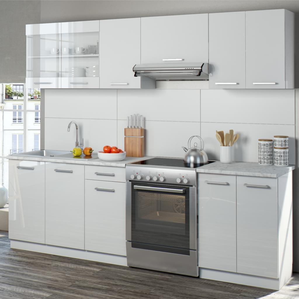 Full Size of Real Küchen Vicco Kche Raul Kchenzeile Kchenblock Einbaukche Regal Wohnzimmer Real Küchen
