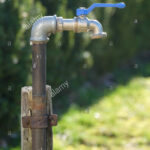 Wasserhahn Anschluss Ein Im Garten Küche Für Wandanschluss Bad Wohnzimmer Wasserhahn Anschluss