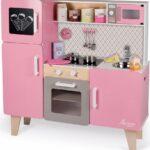 Janod Spielkche Macaron Maxi Holz Kinder Spielküche Wohnzimmer Spielküche