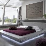 Polsterbett 200x220 Wasserbetten Europacom Euro Perla 200 220 Cm Grau Led Bett Betten Wohnzimmer Polsterbett 200x220