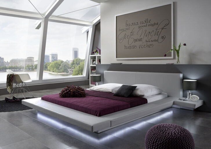 Medium Size of Polsterbett 200x220 Wasserbetten Europacom Euro Perla 200 220 Cm Grau Led Bett Betten Wohnzimmer Polsterbett 200x220