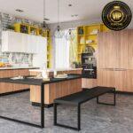 Kücheninsel Mit Esstisch Moderne Kche Ava Designerkche Kochinsel Und Essplatz Kleiner Weiß Bett Schubladen 160x200 Esstische Ausziehbar 90x200 Schlafzimmer Wohnzimmer Kücheninsel Mit Esstisch