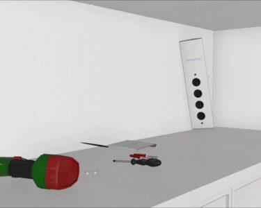 Plexiglas Hornbach Wohnzimmer Einbau Montage Der Ecksteckdose 17586 Thebo St 3007 In Die Spritzschutz Küche Plexiglas