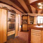 Vollholzkche Kcheninsel In Birnbaum Freistehende Küche Wohnzimmer Kücheninsel Freistehend