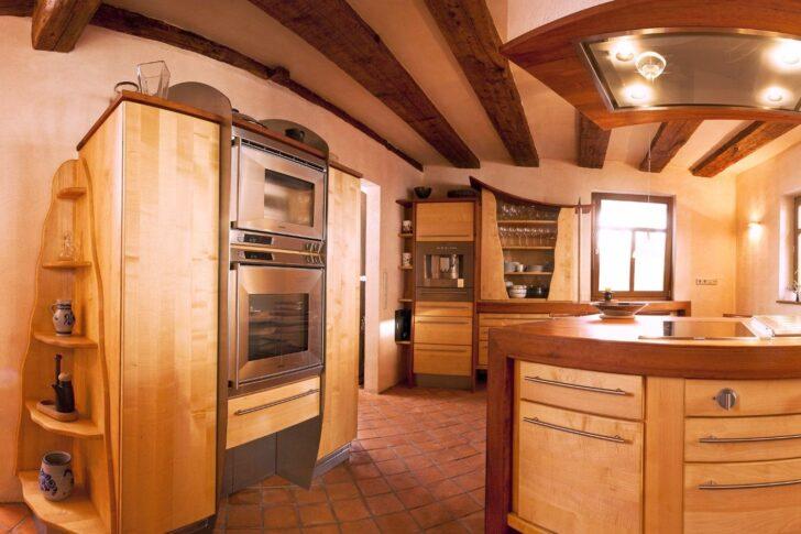 Medium Size of Vollholzkche Kcheninsel In Birnbaum Freistehende Küche Wohnzimmer Kücheninsel Freistehend