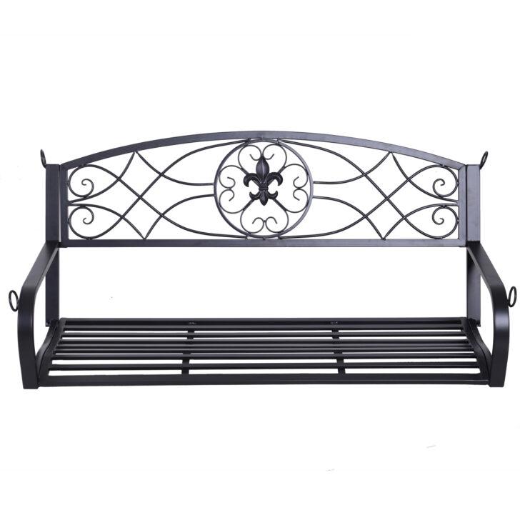 Medium Size of Gartenschaukel Metall Outsunny Hngebank 2 Sitzer Schaukelbank Bett Regal Weiß Regale Wohnzimmer Gartenschaukel Metall