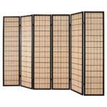 Paravent Bambus Wohnzimmer Raumteiler Paravent Mali In Beige Braun Wohnende Garten Bambus Bett