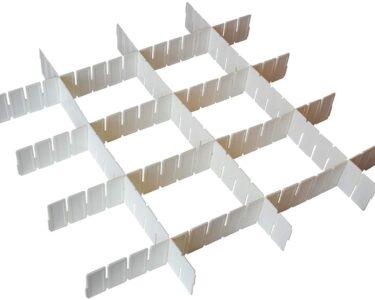 Schubladeneinsatz Stecksystem Wohnzimmer Schubladeneinsatz Stecksystem 7 Tlg Weie Verstellbare Schubladenteiler Aufbewahrung Organizer Küche Regal