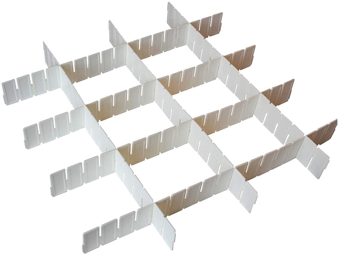 Full Size of Schubladeneinsatz Stecksystem 7 Tlg Weie Verstellbare Schubladenteiler Aufbewahrung Organizer Küche Regal Wohnzimmer Schubladeneinsatz Stecksystem